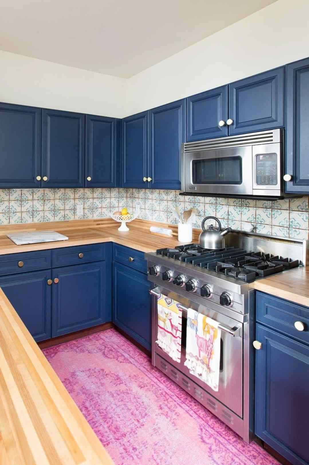 Impressive Ideas Decorate Kitchen Houzz Cobalt Blue Kitchen Decor Small Kitchens Cobalt Blue