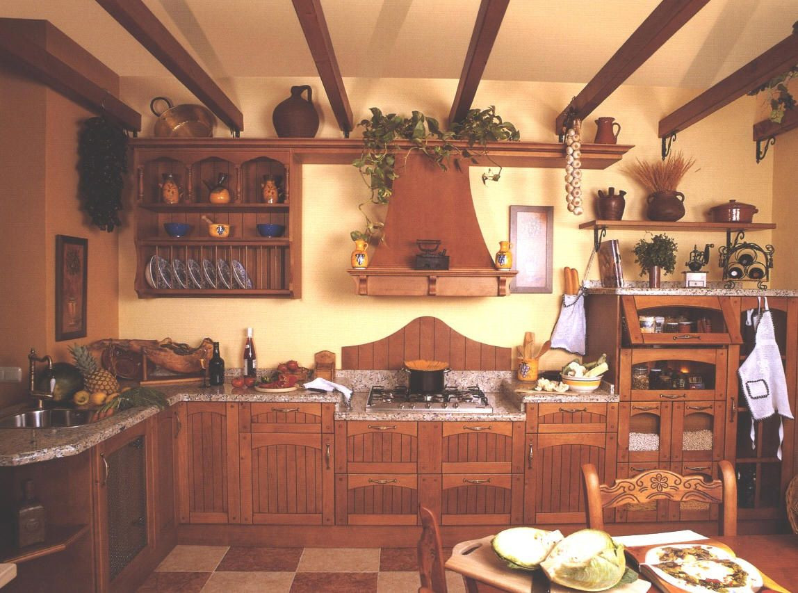Impressive Ideas Decorate Kitchen Spain Decoration Ideas