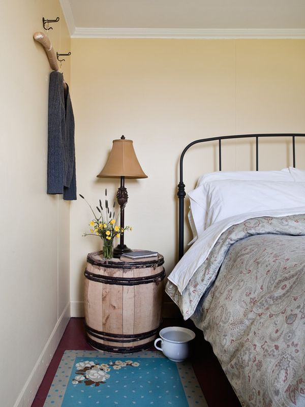 Interesting Nightstand Designs 19 Interesting Ways Using Wine Barrels In Home Décor