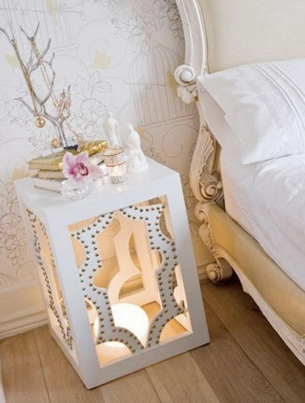 Interesting Nightstand Designs 30 Creative Nightstand Ideas for Home Decoration Hative