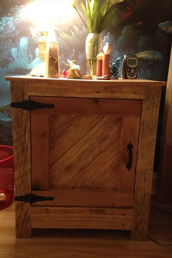 Interesting Nightstand Designs Interesting Diy Pallet Nightstand Projects – Ideas with