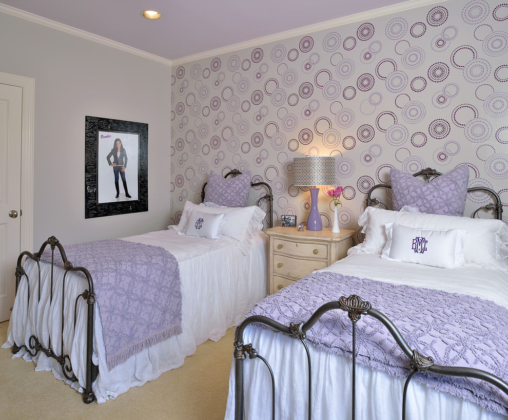 Kids Bedroom Design 27 Purple Childs Room Designs