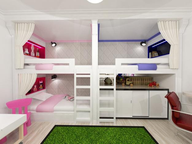 Kids Bedroom Design 30 Three Children Bedroom Design Ideas
