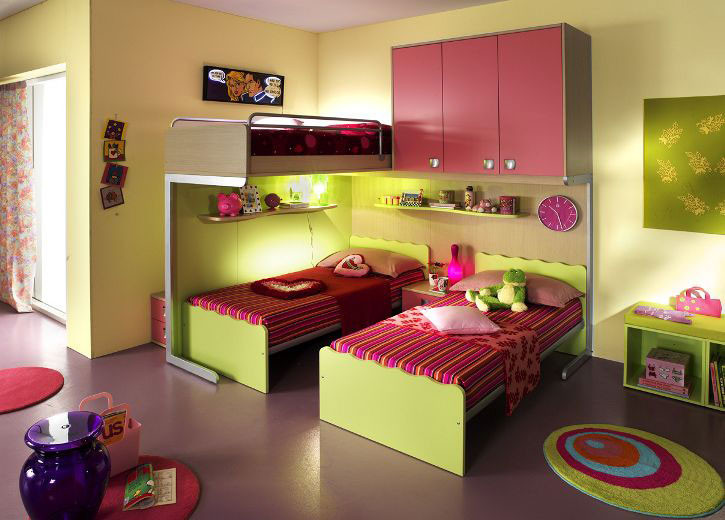 Kids Bedroom Design Ergonomic Kids Bedroom Designs for Two Children From