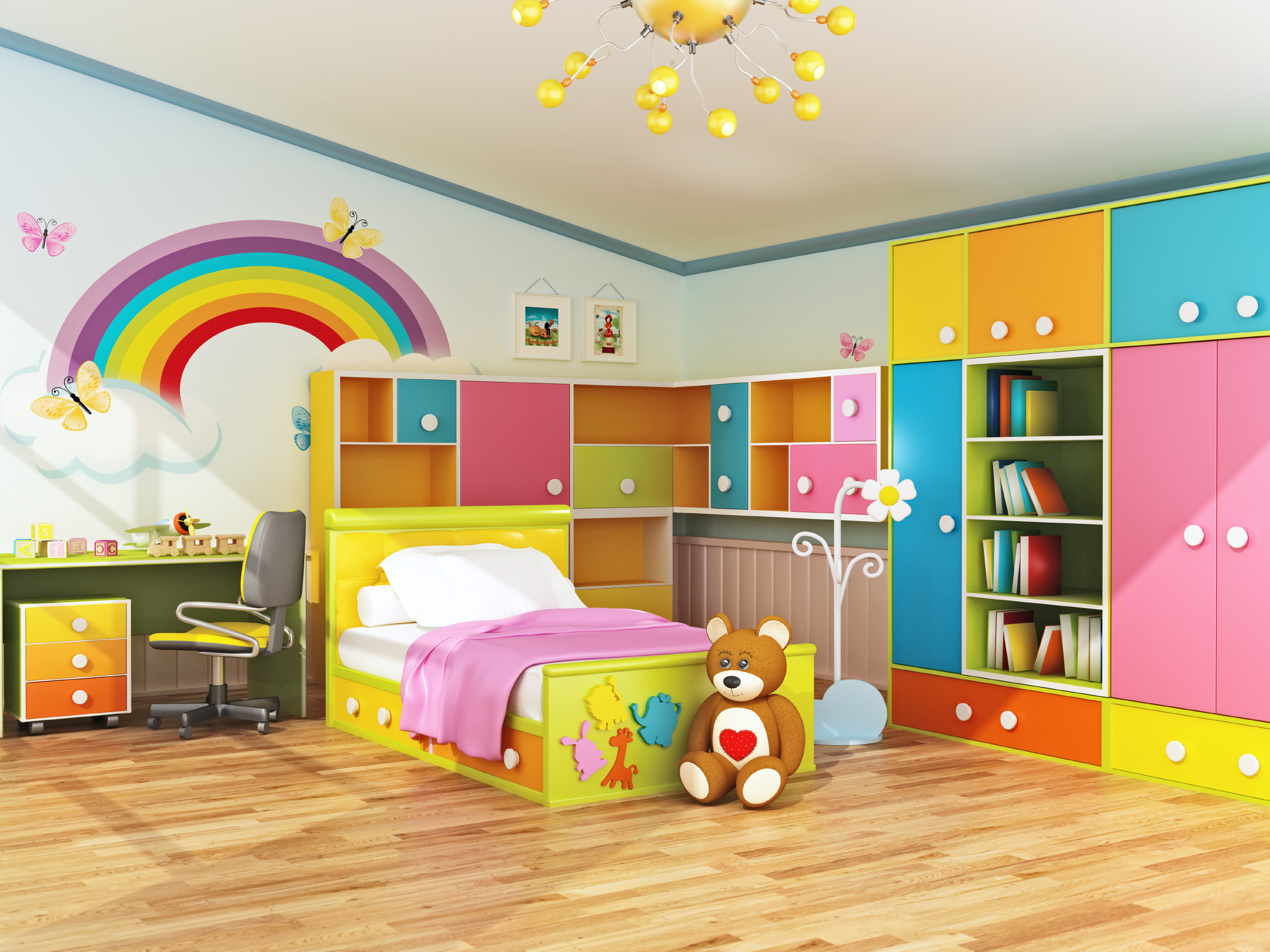 Kids Bedroom Design Plan Ahead when Decorating Kids Bedrooms