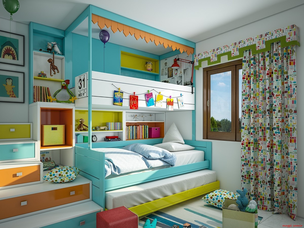Kids Bedroom Design Super Colorful Bedroom Ideas for Kids and Teens