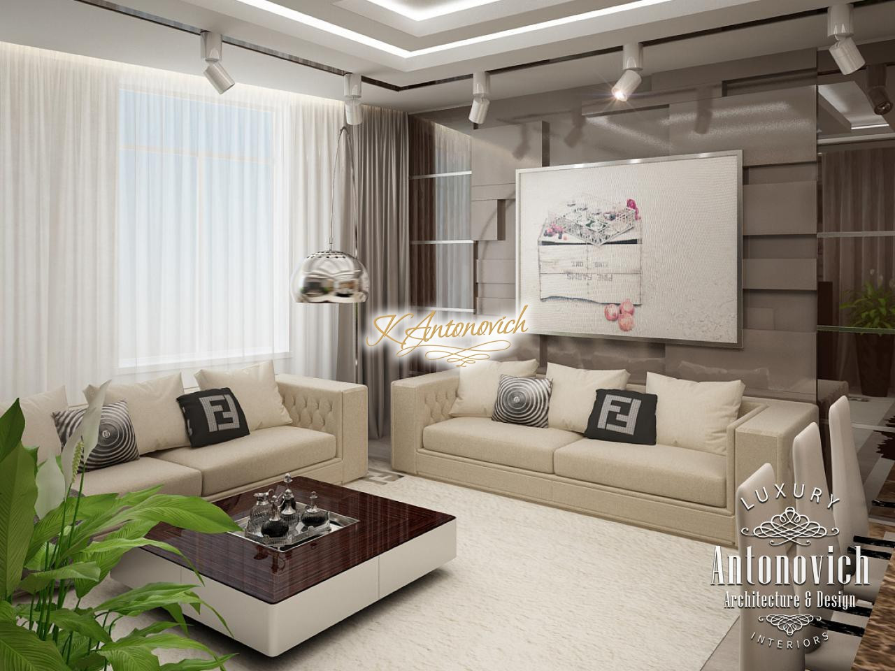 Living Room Design Elegant Living Room Interior Design