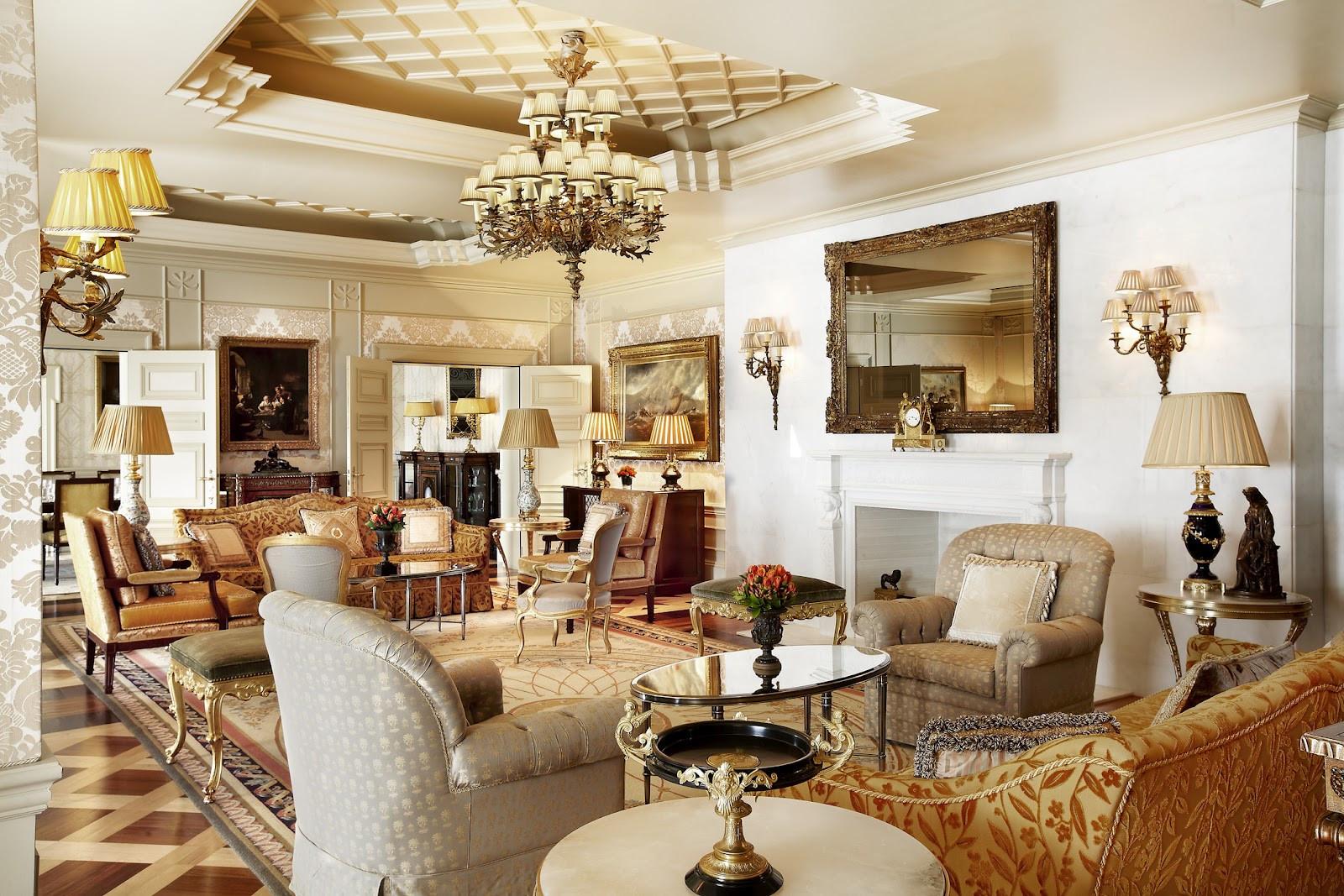 Living Room Design Hotel Grande Bretagne athens