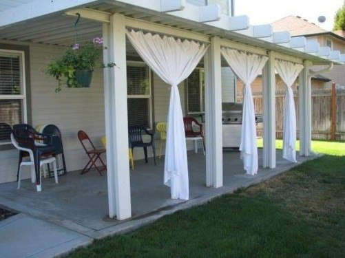 Magnificient Options for Curtains 37 Magnificient Outdoor Curtain Ideas that Make Garden