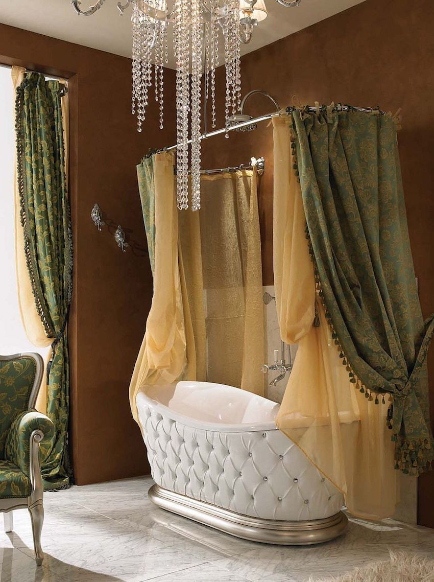 Magnificient Options for Curtains 50 Magnificent Luxury Master Bathroom Ideas Full Version