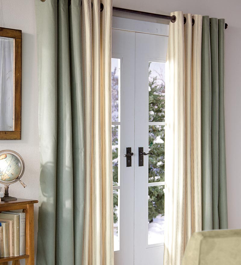 Magnificient Options for Curtains Choosing Magnificent Patio Door Curtains We Bring Ideas