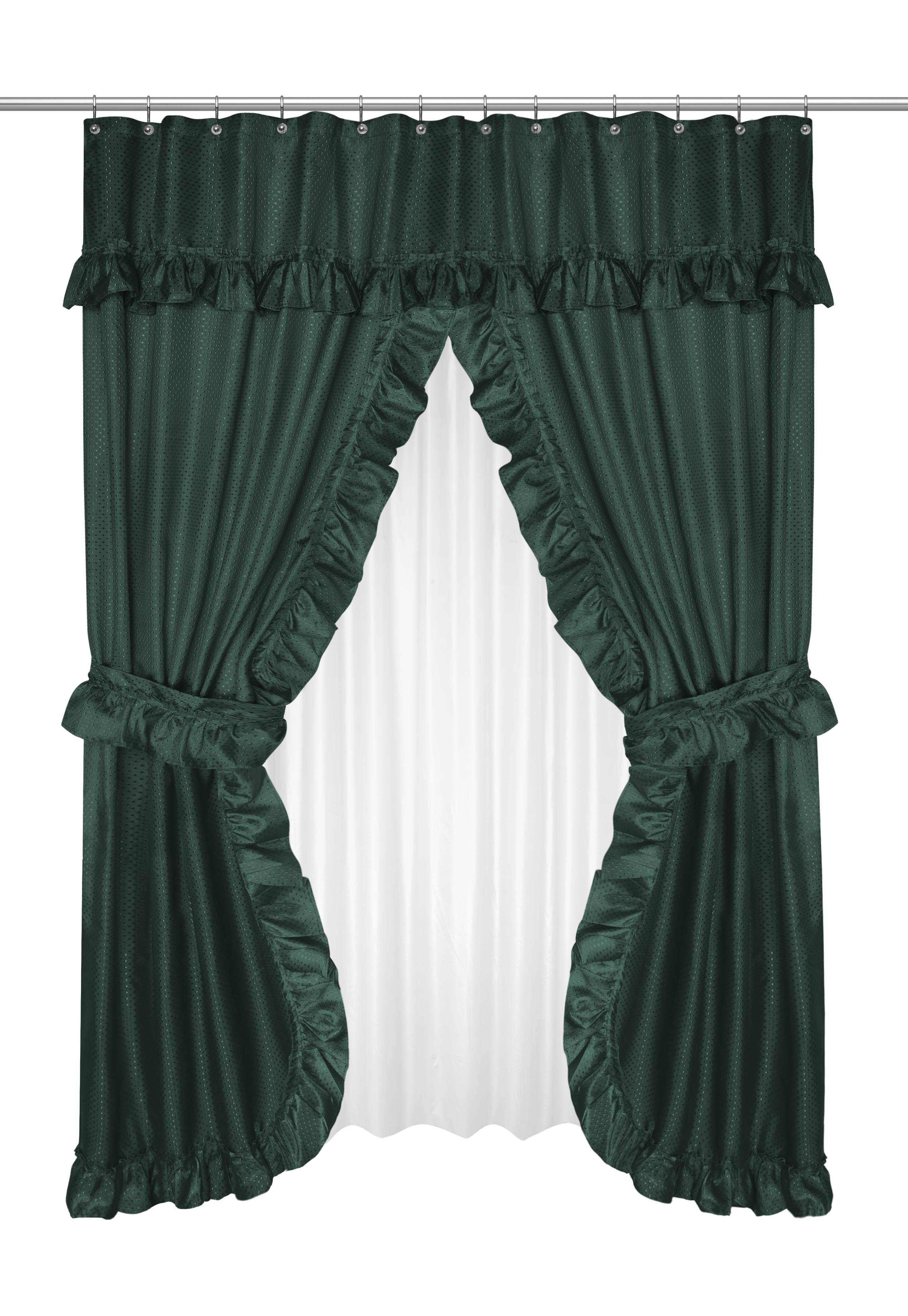 Magnificient Options for Curtains Decor Magnificent Collections Swag Shower Curtains