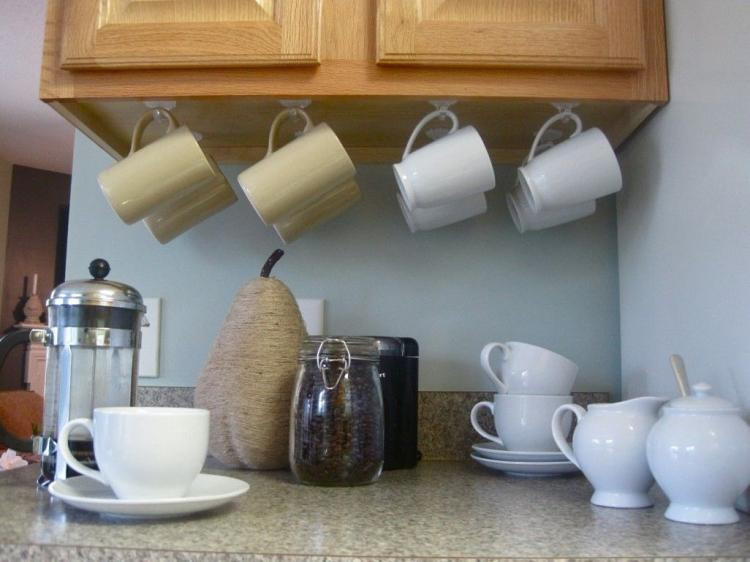 Mug Storage solutions 20 Beautiful Mug Storage solutions Design Inspirations
