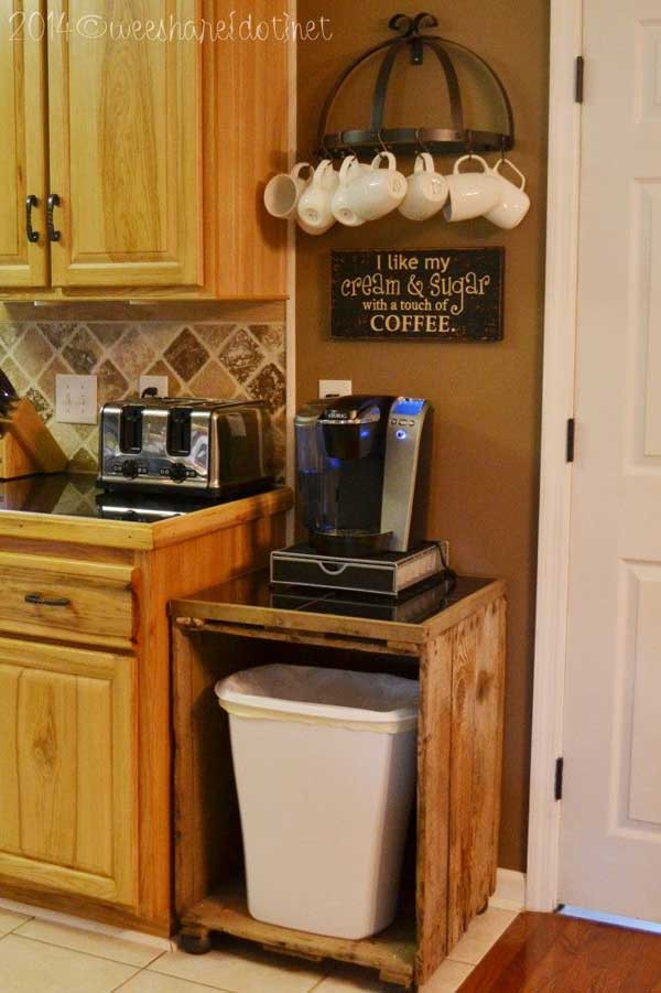 Mug Storage solutions 30 Fun and Practical Diy Coffee Mugs Storage Ideas for