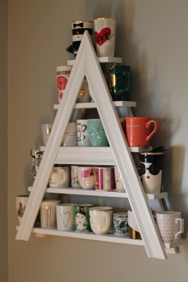 Mug Storage solutions Best 20 Coffee Cup Storage Ideas On Pinterest