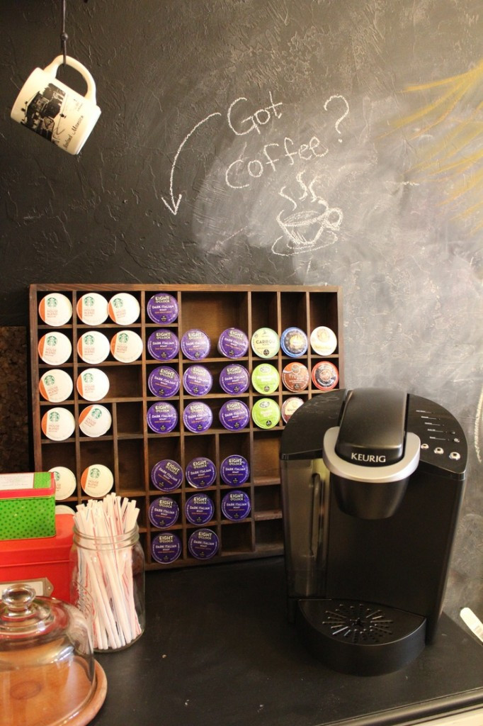 Mug Storage solutions Creative K Cup organizers