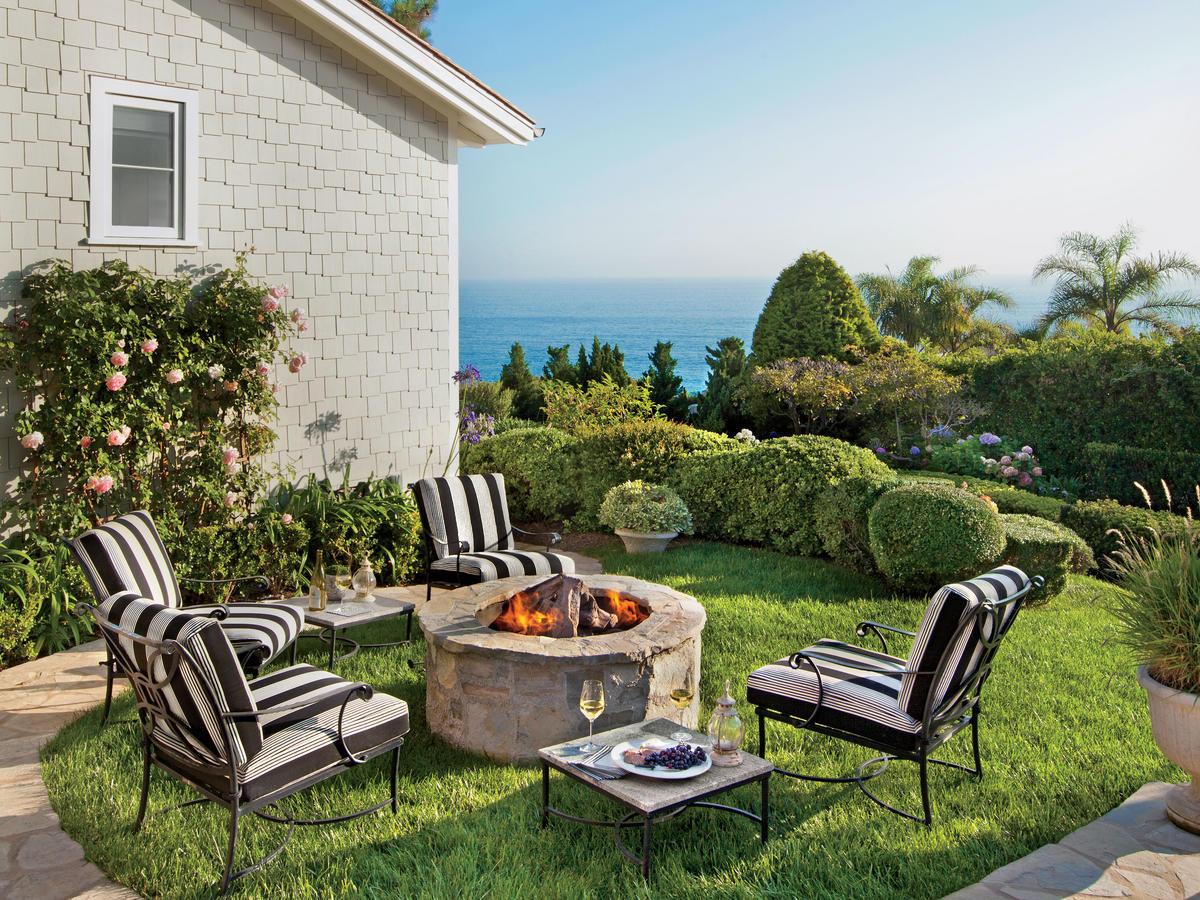 Outdoor Fireplace Design 15 Outdoor Fireplace Design Ideas Coastal Living