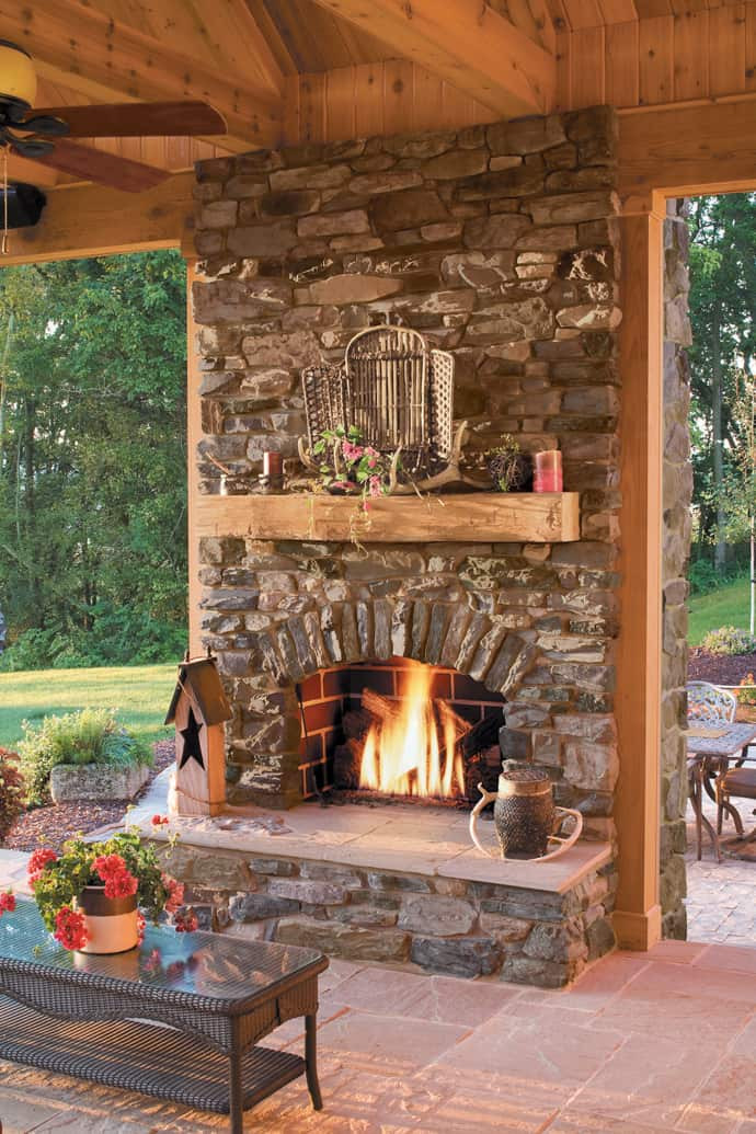 Outdoor Fireplace Design 25 Stone Fireplace Ideas for A Cozy Nature Inspired Home