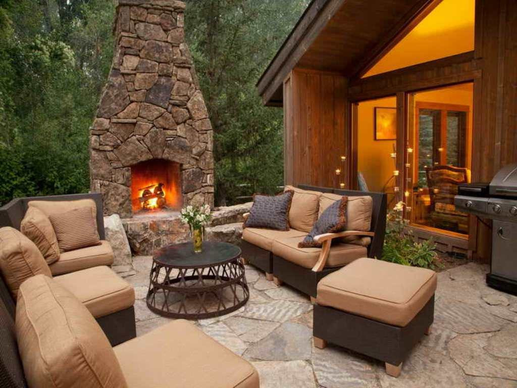 Outdoor Fireplace Design 30 Inspiring Patio Decorating Ideas to Relax A Hot Days