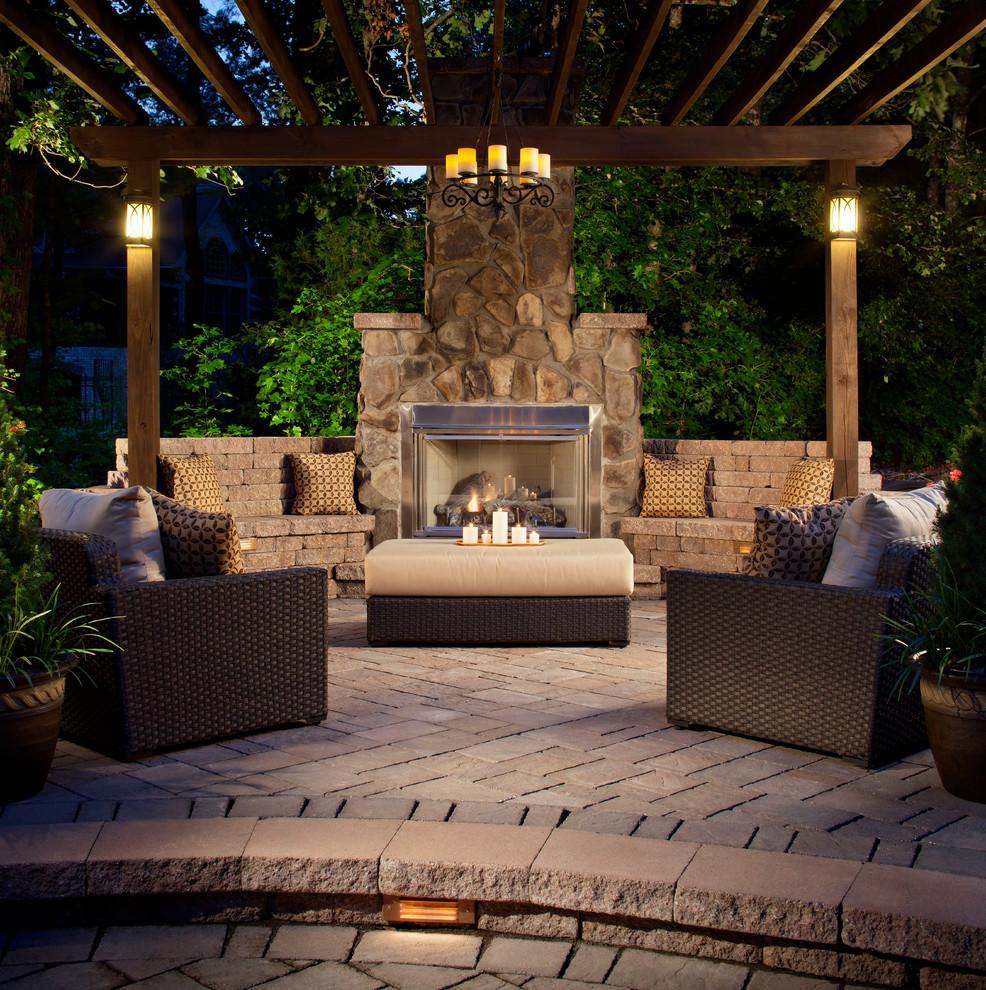 Outdoor Fireplace Design 30 Patio Designs Decorating Ideas