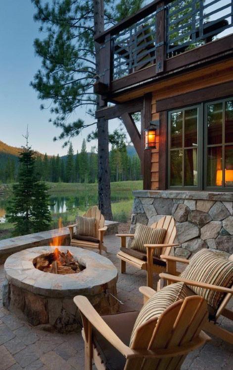 Outdoor Fireplace Design 70 Outdoor Fireplace Designs for Men Cool Fire Pit Ideas