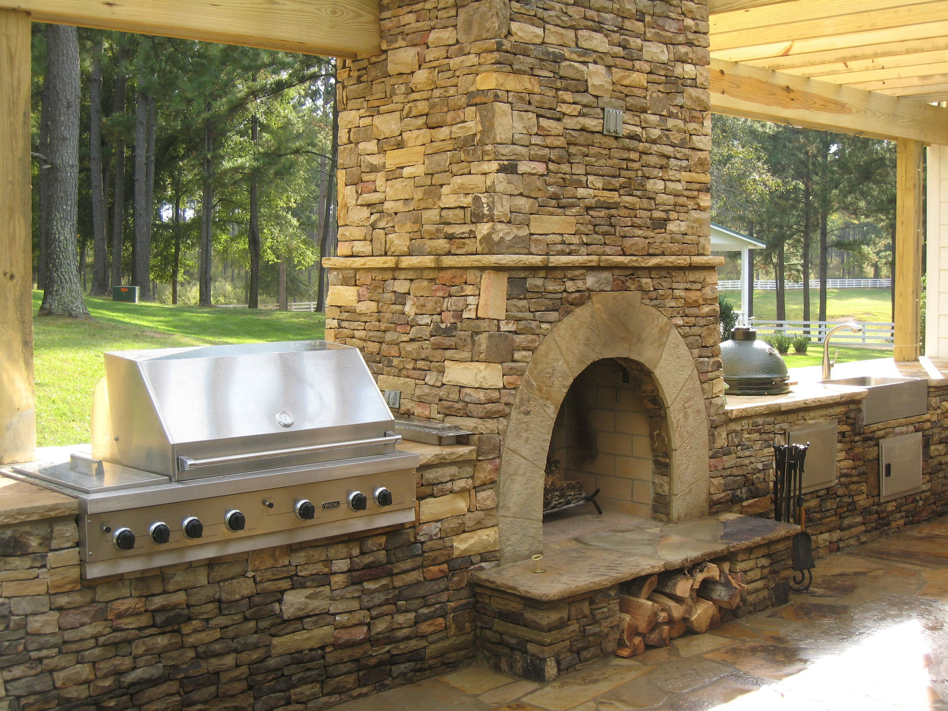 Outdoor Fireplace Design Amazing Outdoor Fireplace Designs Part 1
