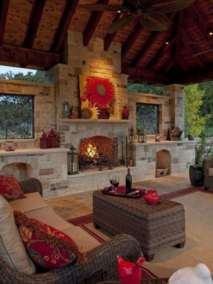 Outdoor Fireplace Design Best 25 Outdoor Fireplaces Ideas On Pinterest