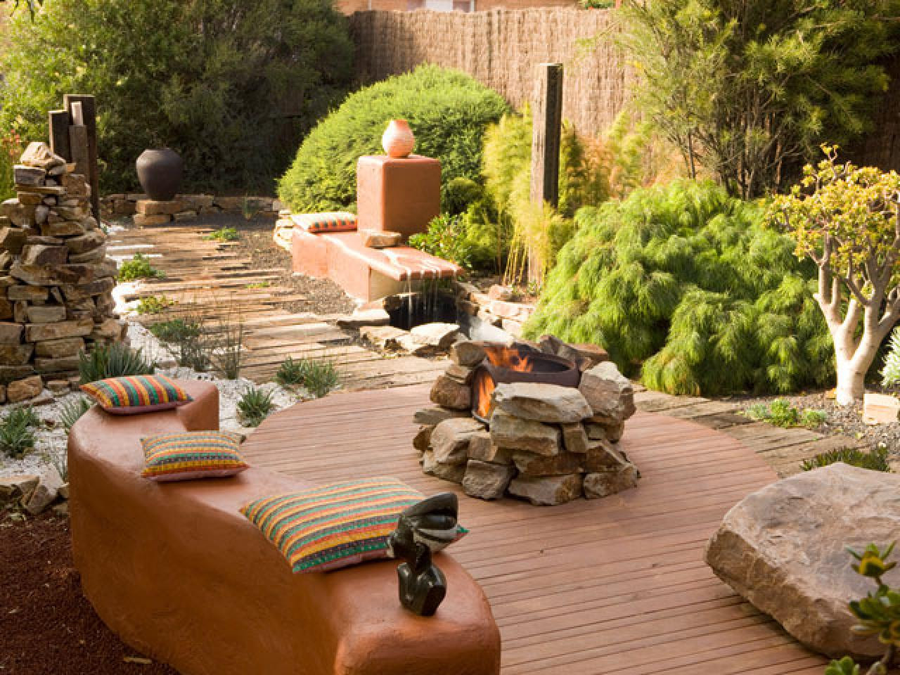 Outdoor Fireplace Design Fire Pit Material Considerations