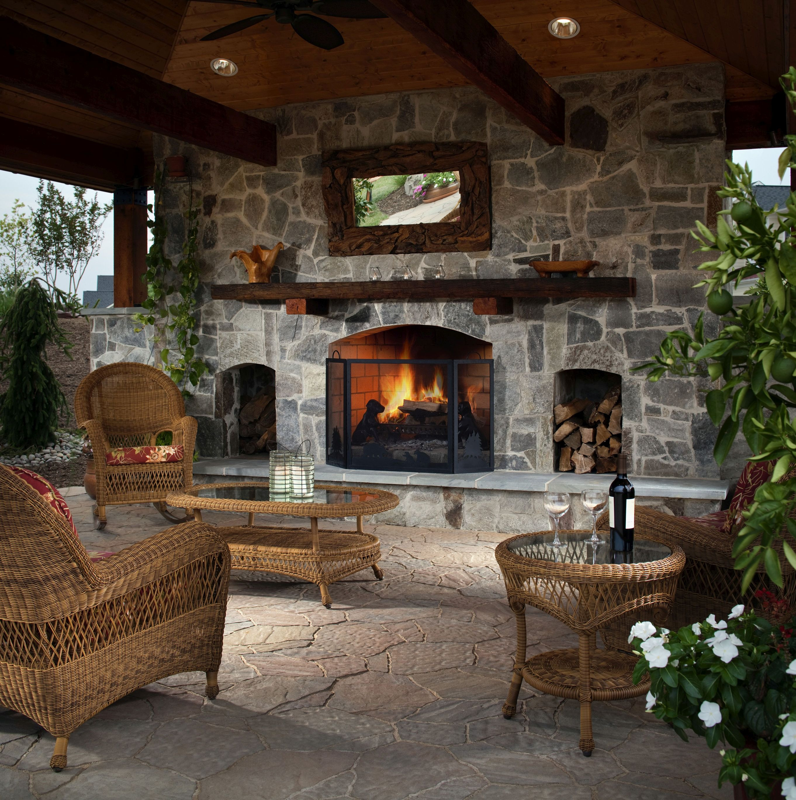 Outdoor Fireplace Design How to Make Your Backyard Feel Like A Resort