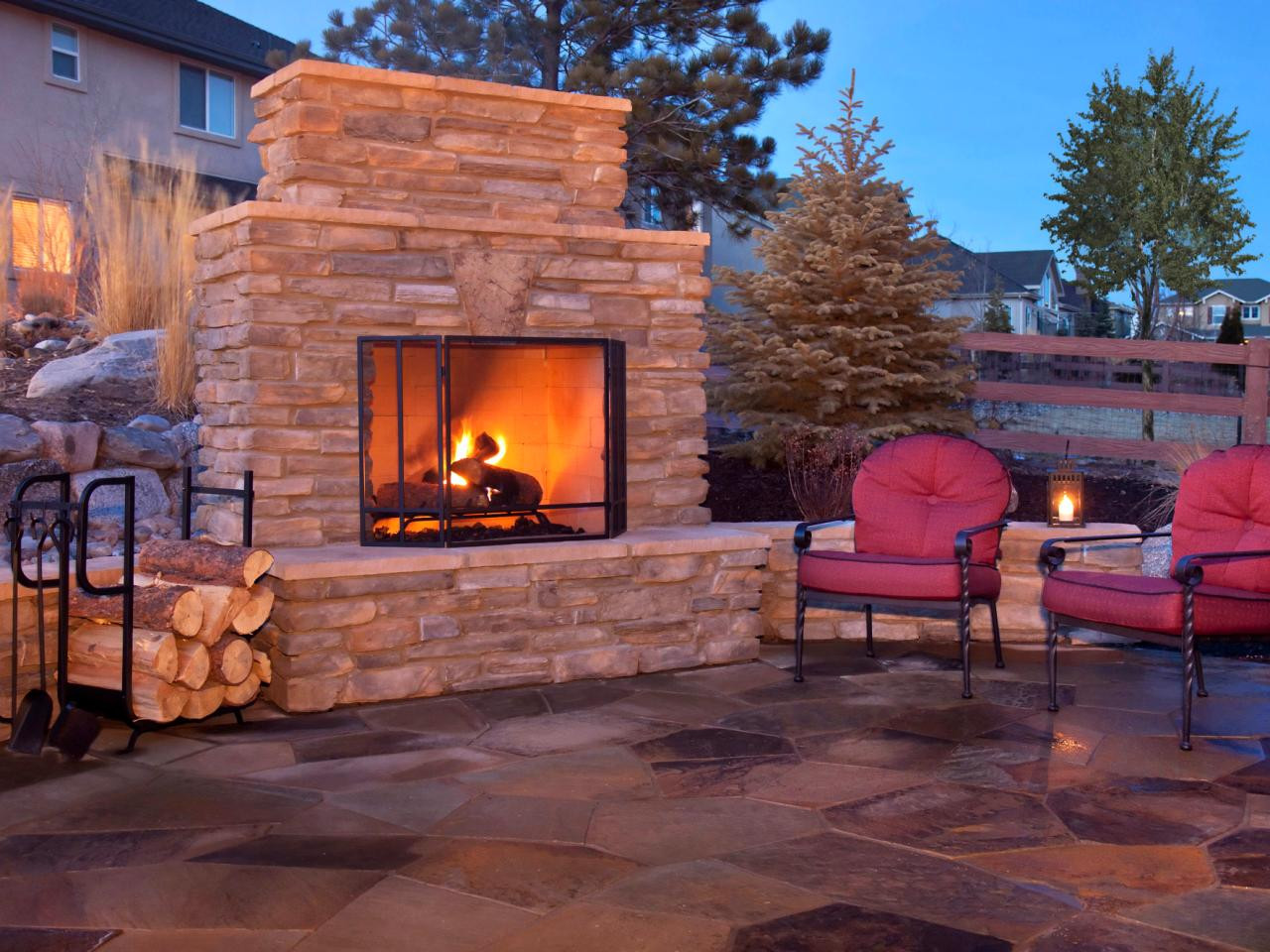 Outdoor Fireplace Design How to Plan for Building An Outdoor Fireplace