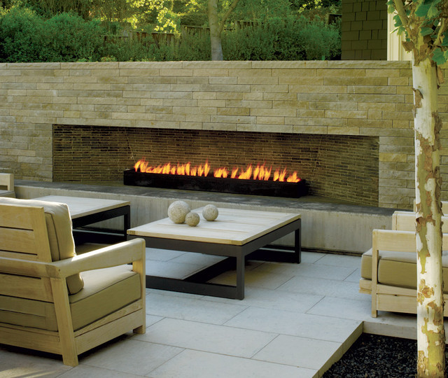 Outdoor Fireplace Design Modern Outdoor Fireplace Contemporary Patio San