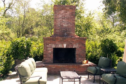 Outdoor Fireplace Design Outdoor Fireplace Design Landscaping Network
