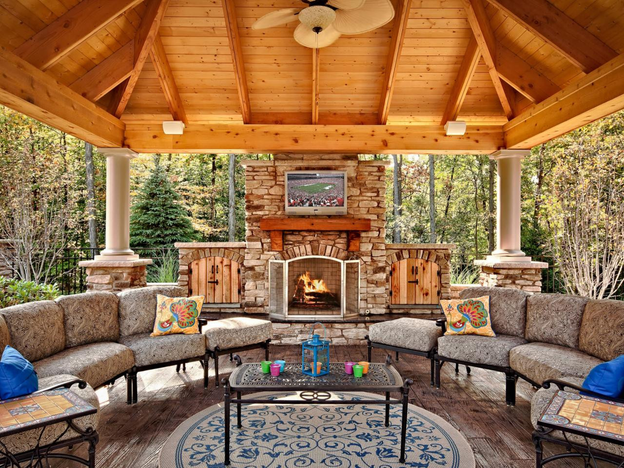 Outdoor Fireplace Design Outdoor Fireplace Plans