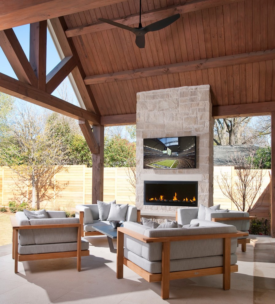 Outdoor Fireplace Design Outdoor Fireplace with Tv Patio Contemporary with Back