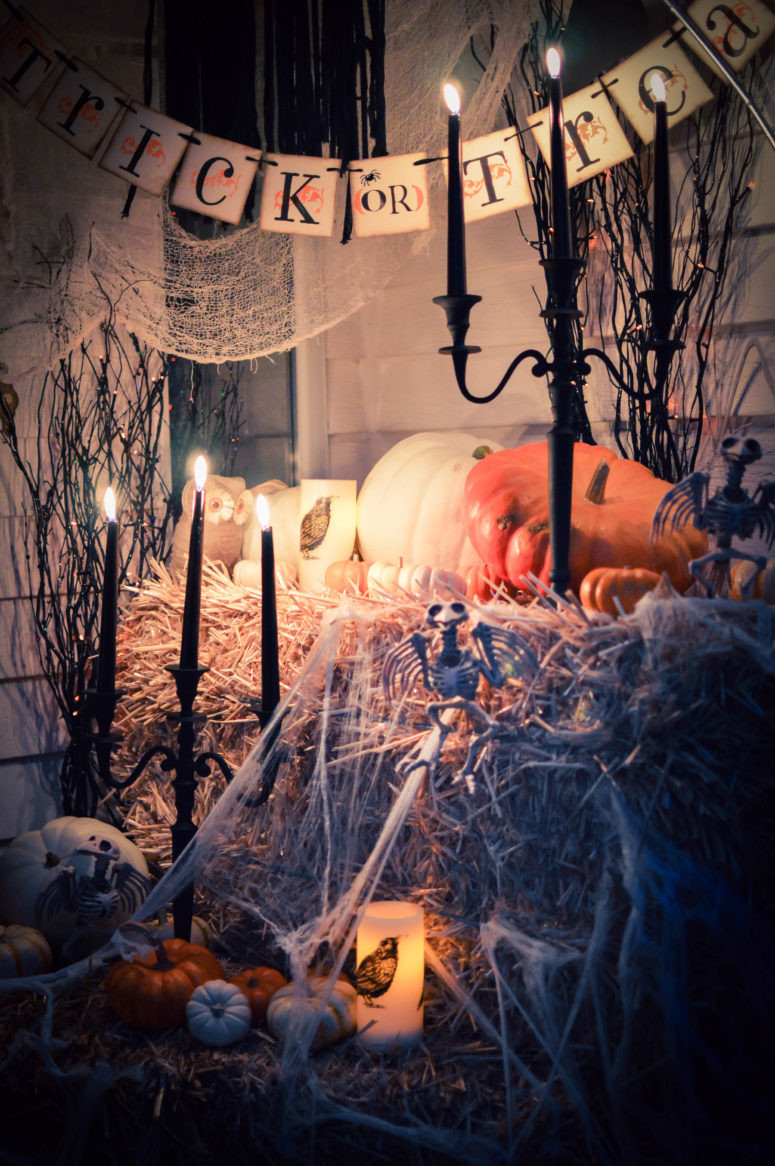 Outdoor Halloween Decorations 125 Cool Outdoor Halloween Decorating Ideas Digsdigs