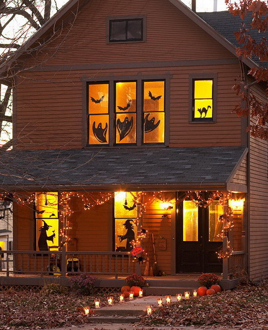 Outdoor Halloween Decorations 34 Scary Outdoor Halloween Decorations and Silhouette