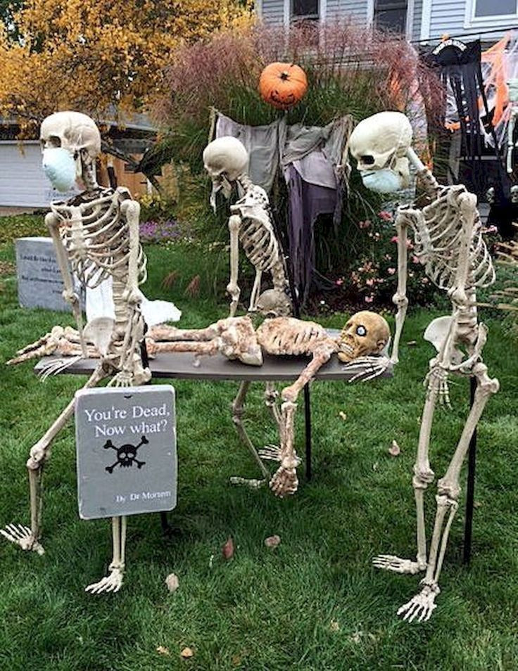 Outdoor Halloween Decorations 35 Best Diy Halloween Outdoor Decorations for 2018 31