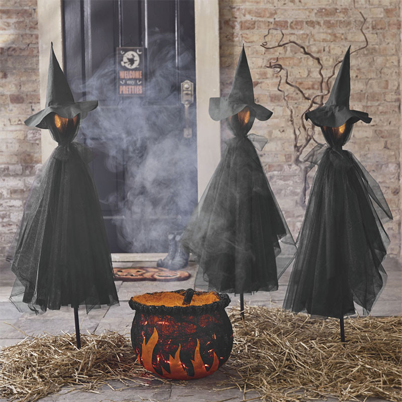 Outdoor Halloween Decorations Spooky and Creative Outdoor Halloween Decorating Ideas