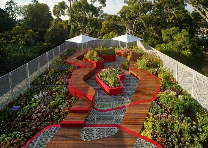 Rooftop Garden 25 Rooftop Gardens that Will Make Your Jaw Drop