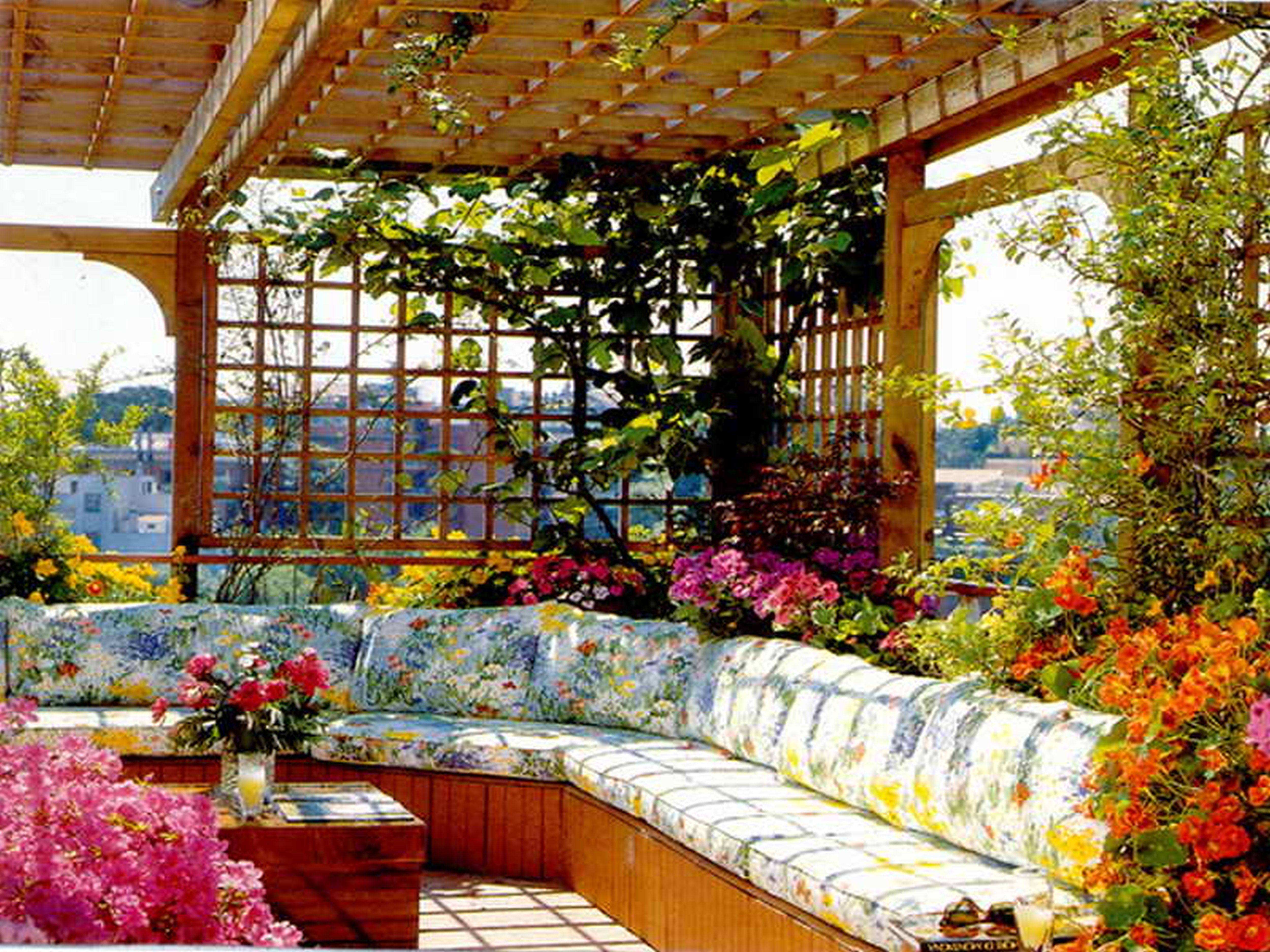 Rooftop Garden 27 Roof Garden Design Ideas Inspirationseek