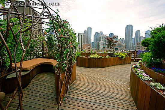 Rooftop Garden Beautiful Abodes Rooftop Gardens