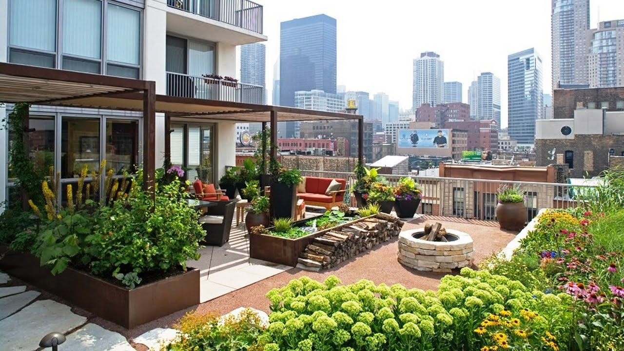 Rooftop Garden Gorgeous Landscape and Gardens In Rooftop Terraces Pinoy