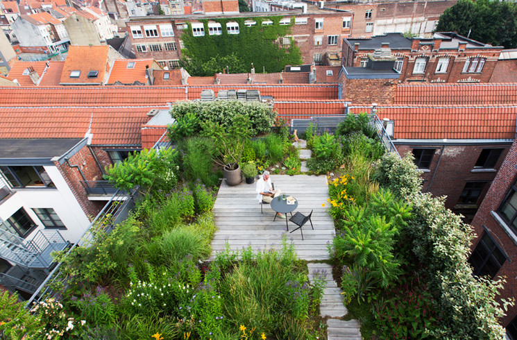 Rooftop Garden the New Luxury Rooftop Gardens