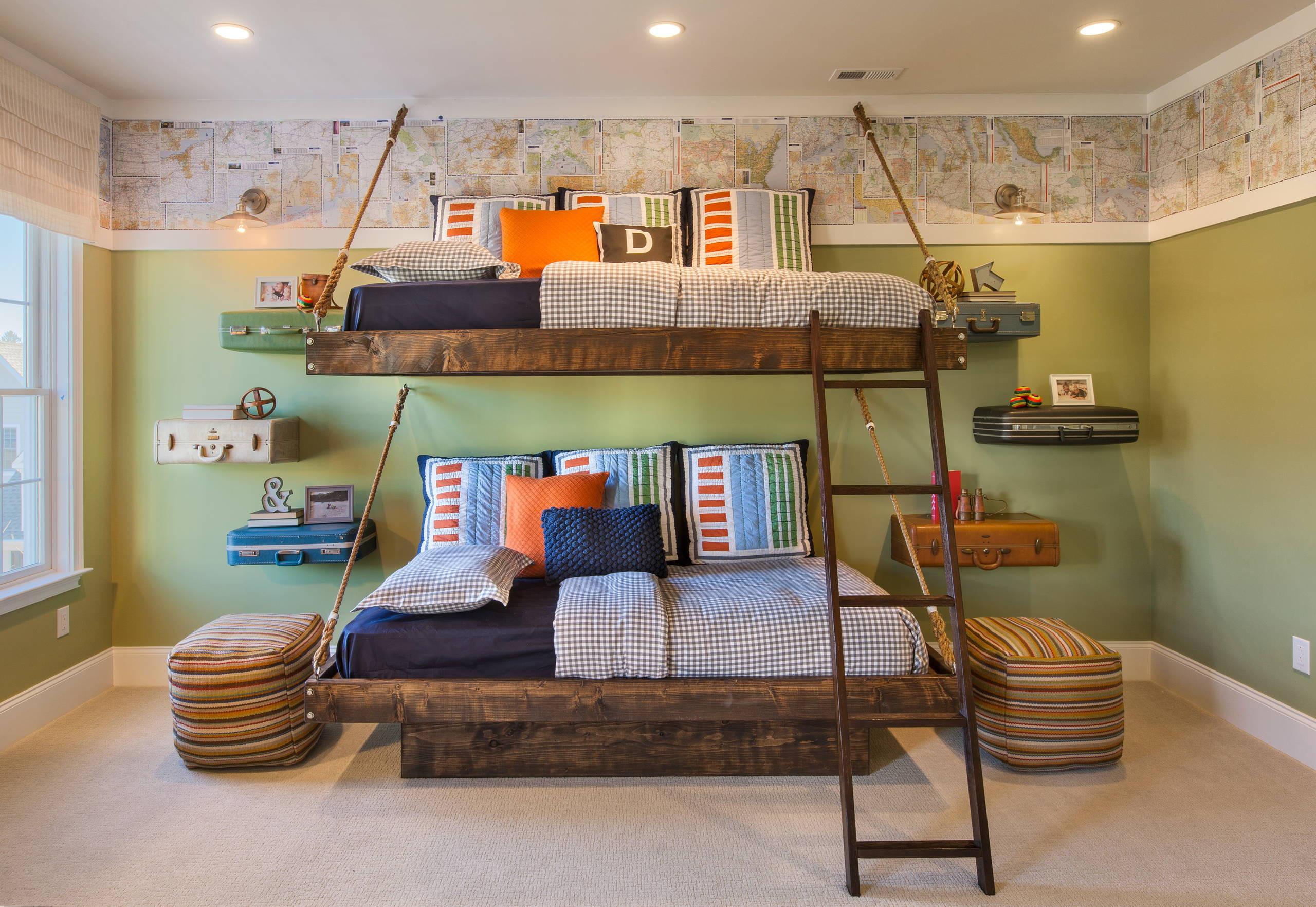 Rustic Kids Room Designs 15 Charming Rustic Kids Room Designs that Strike with