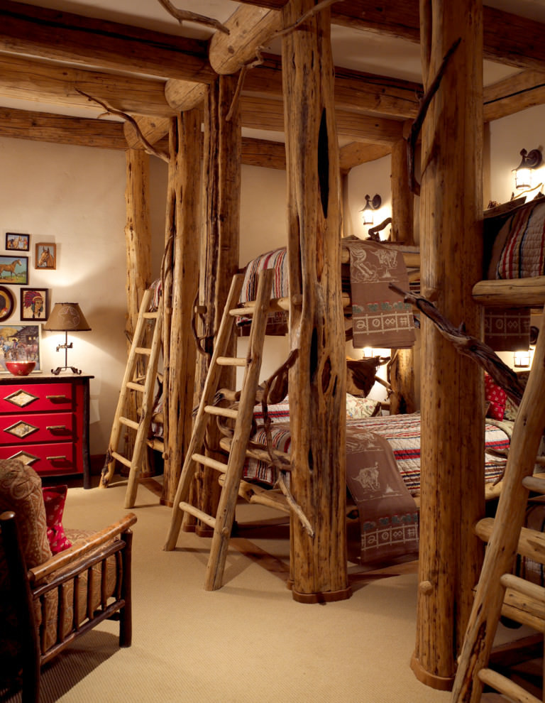 Rustic Kids Room Designs 20 Tree Beds Designs Decorating Ideas