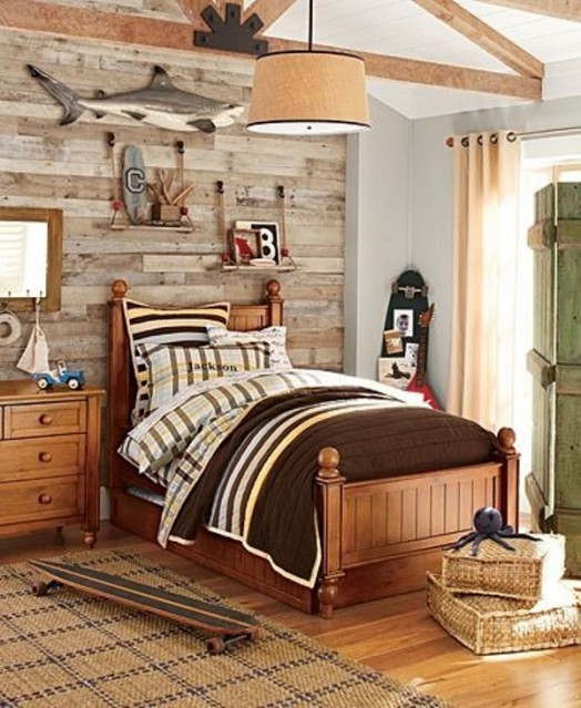 Rustic Kids Room Designs 23 Creative and Cozy Rustic Kids Bedrooms