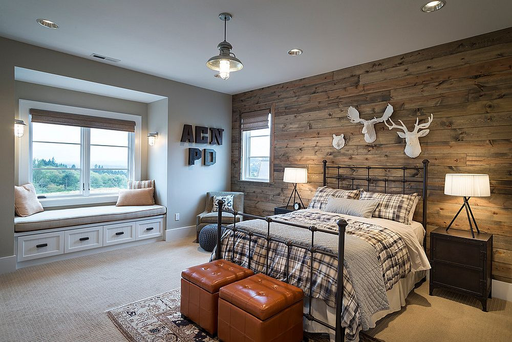 Rustic Kids Room Designs 25 Awesome Bedrooms with Reclaimed Wood Walls