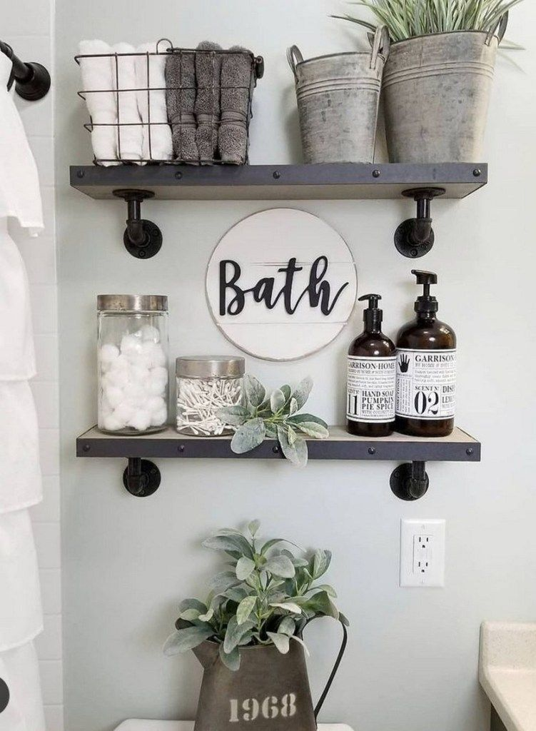 small apartment bathroom decoration 2