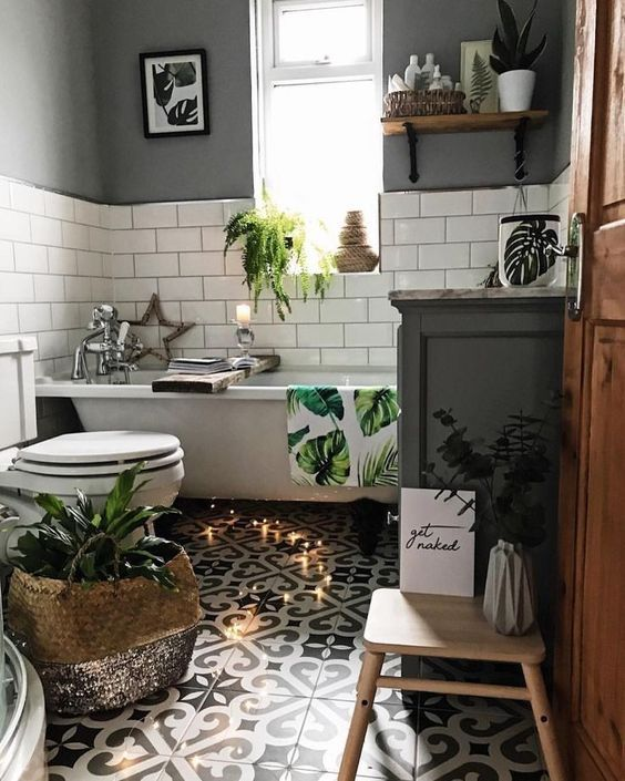 small apartment bathroom decoration 49