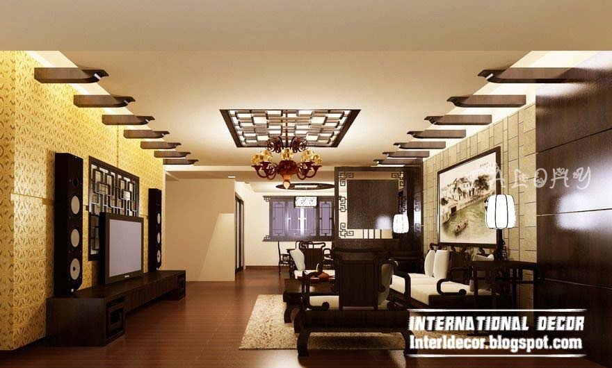 Unique Ceiling Design 10 Unique False Ceiling Modern Designs Interior Living Room